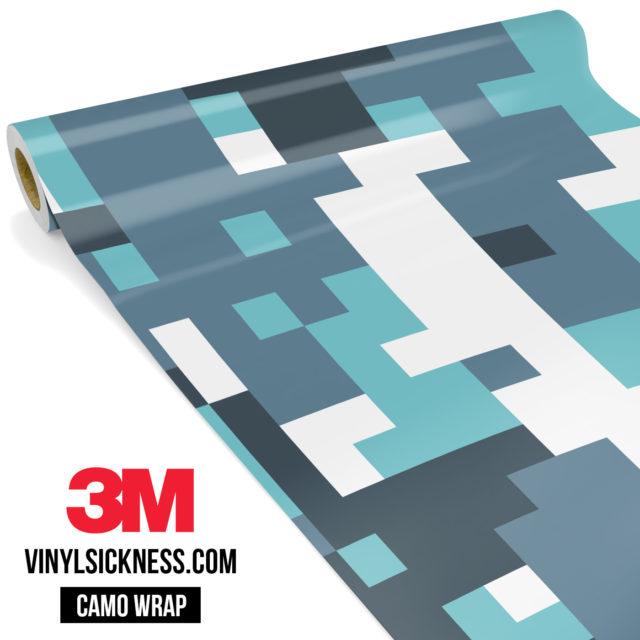 Pistachio Digital Camo Large Vinyl Wrap Main