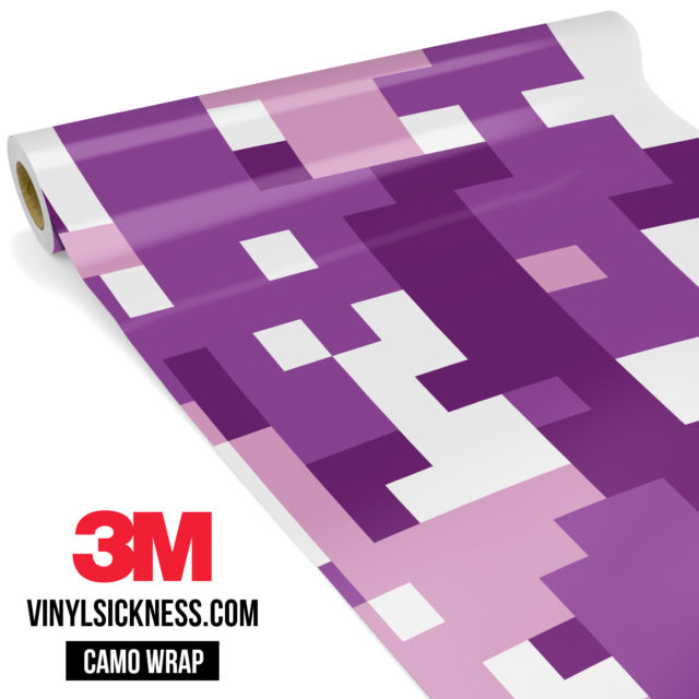 Plum Purple Digital Large Vinyl Wrap Main