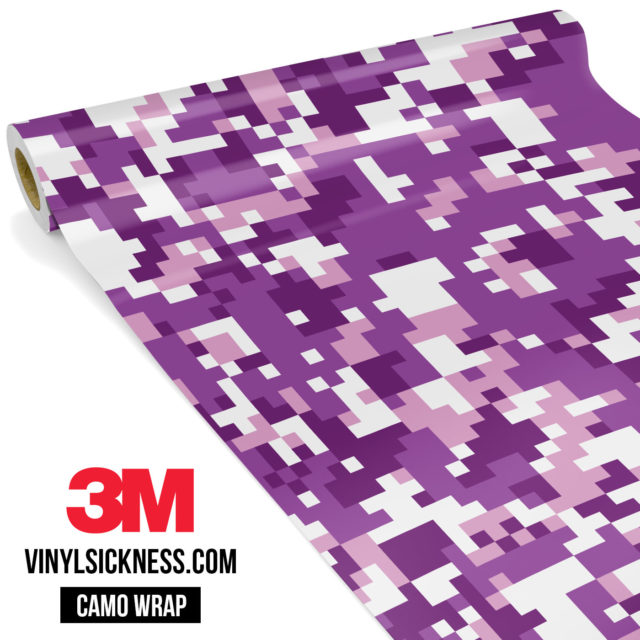 Plum Purple Digital Regular Vinyl Wrap Main
