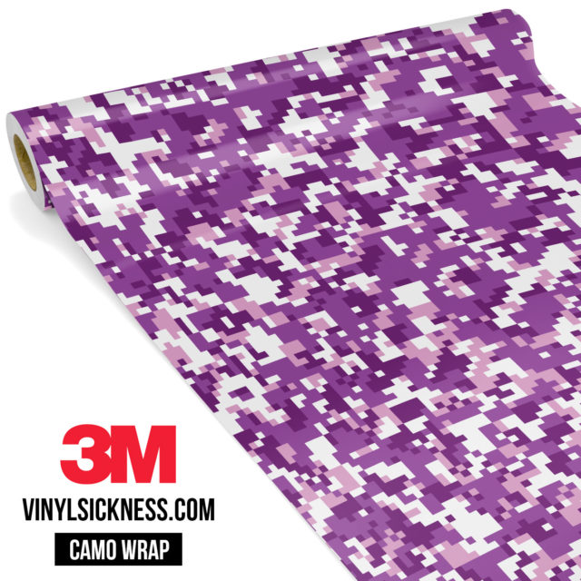 Plum Purple Digital Small Vinyl Wrap Main
