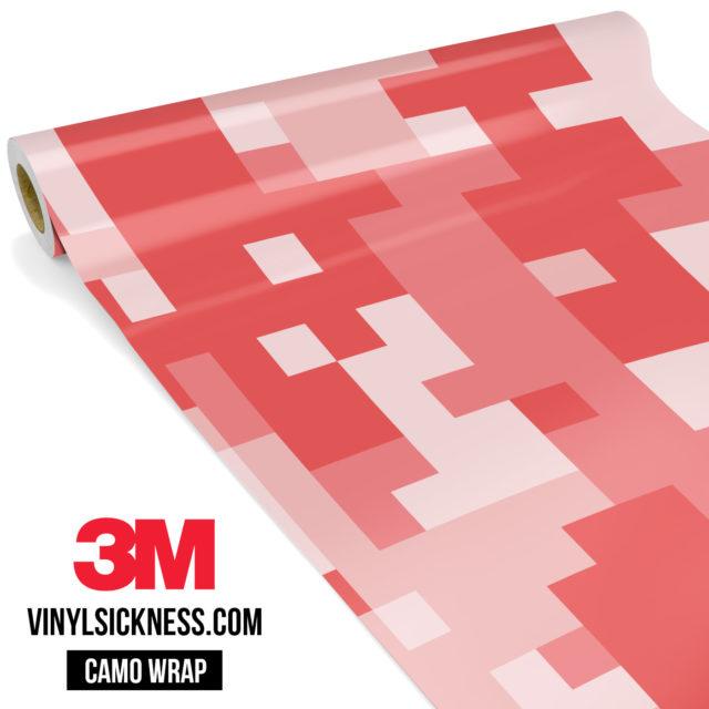 Punch Cream Digital Camo Large Vinyl Wrap Main