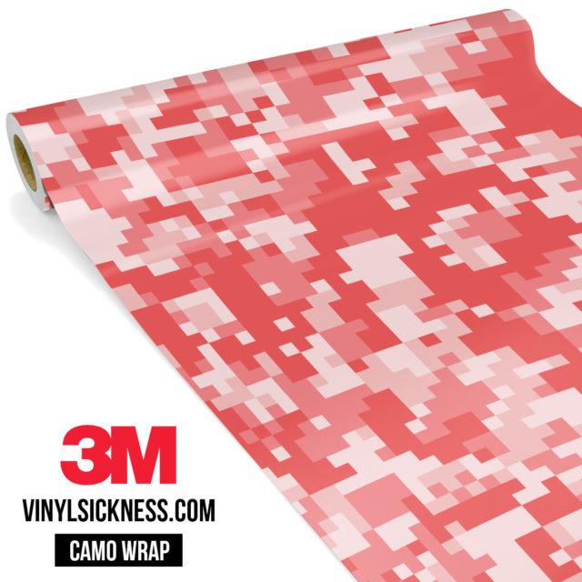 Punch Cream Digital Camo Regular Vinyl Wrap Main