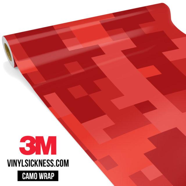 Punch Red Digital Large Vinyl Wrap Main