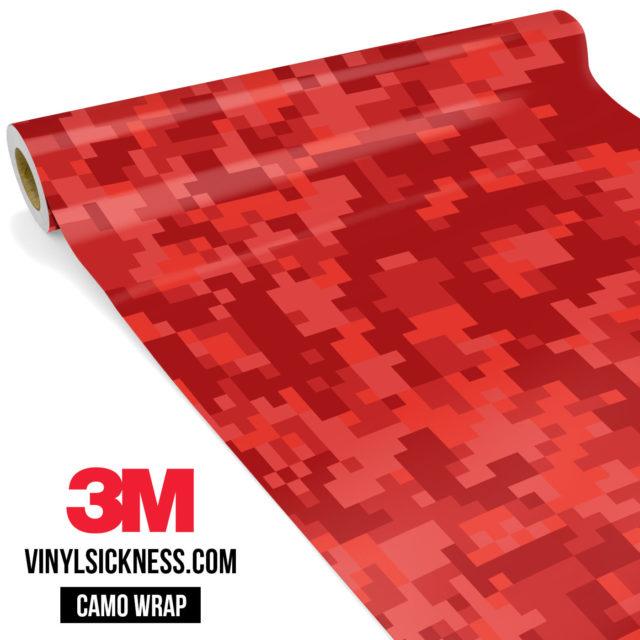 Punch Red Digital Regular Vinyl Wrap Main