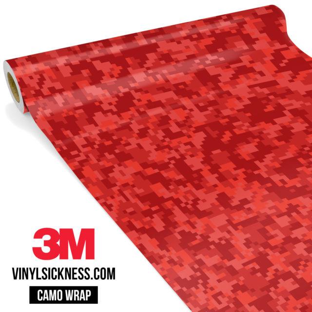 Punch Red Digital Small Vinyl Wrap Main