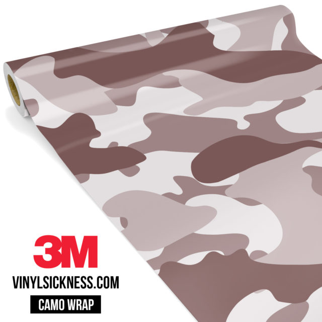 Quarry Clay Shiitake Camo Large Vinyl Wrap Main