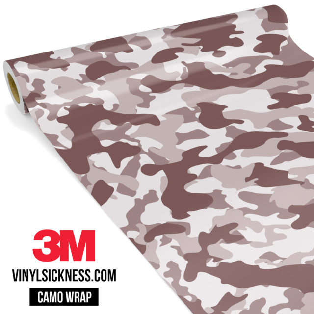 Quarry Clay Shiitake Camo Regular Vinyl Wrap Main