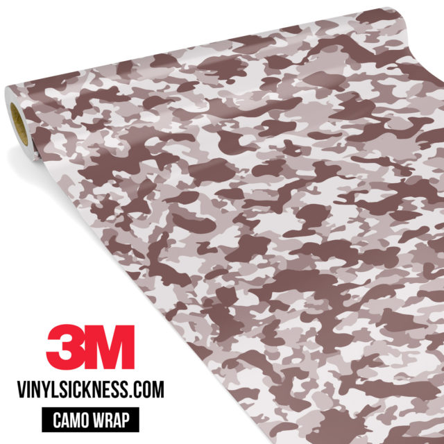 Quarry Clay Shiitake Camo Small Vinyl Wrap Main