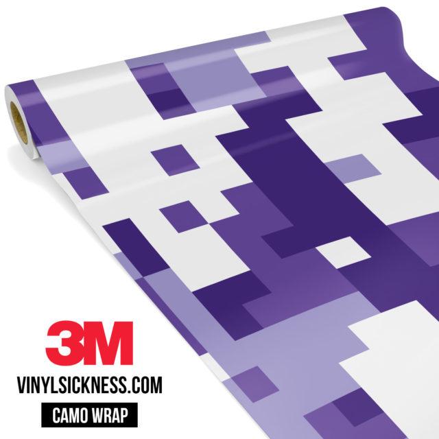 Royal Purple Digital Large Vinyl Wrap Main