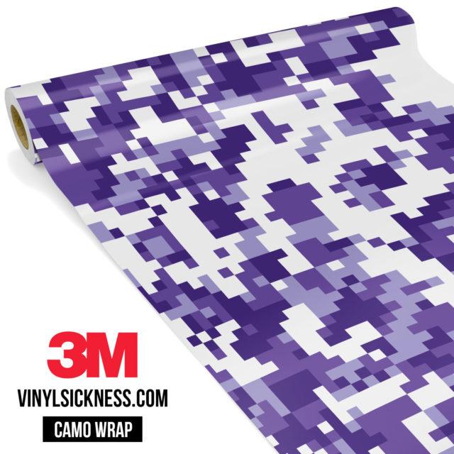 Royal Purple Digital Regular Vinyl Wrap Main