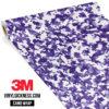 Royal Purple Digital Small Vinyl Wrap Main