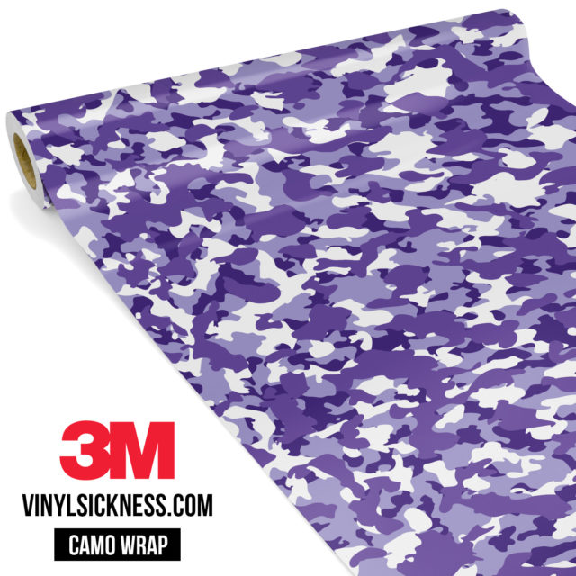 Royal Purple Small Vinyl Wrap Main