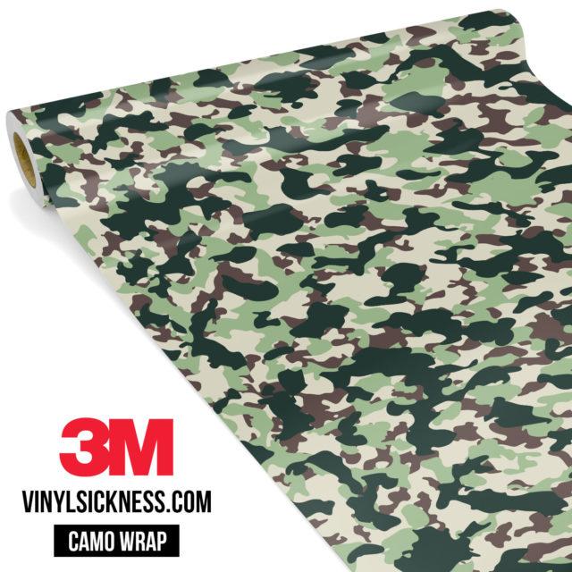 Sage Sacramento Camo Small Vinyl Wrap Main