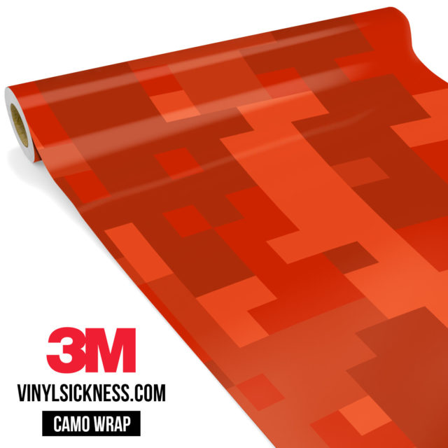 Scarlet Red Digital Large Vinyl Wrap Main