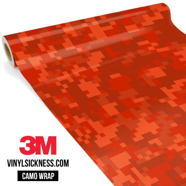 Scarlet Red Digital Regular Vinyl Wrap Main