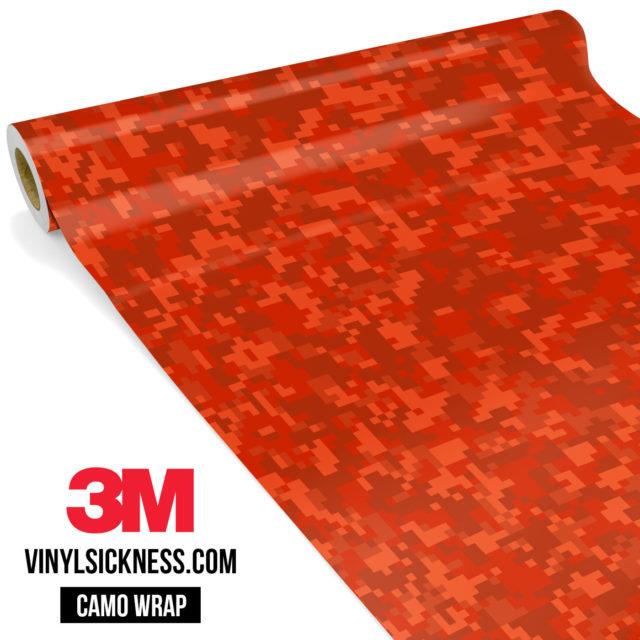Scarlet Red Digital Small Vinyl Wrap Main
