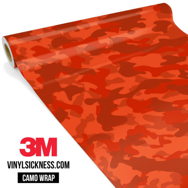 Scarlet Red Regular Vinyl Wrap Main