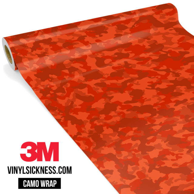 Scarlet Red Small Vinyl Wrap Main