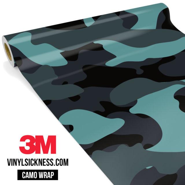 Sea Weed Camo Large Vinyl Wrap Main