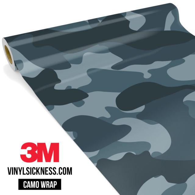 Slate Grey Camo Large Vinyl Wrap Main