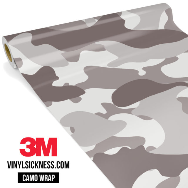 Smokey Taupe Camo Large Vinyl Wrap Main