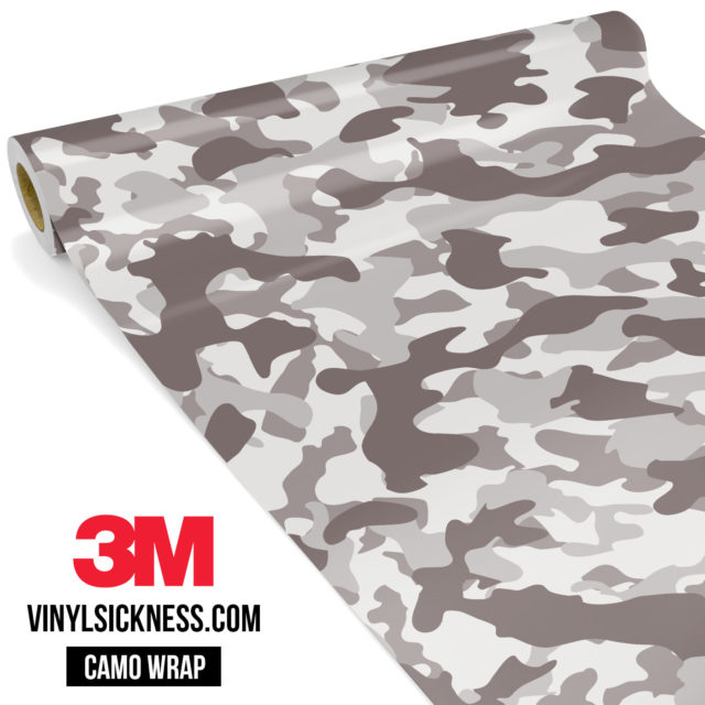 Smokey Taupe Camo Regular Vinyl Wrap Main