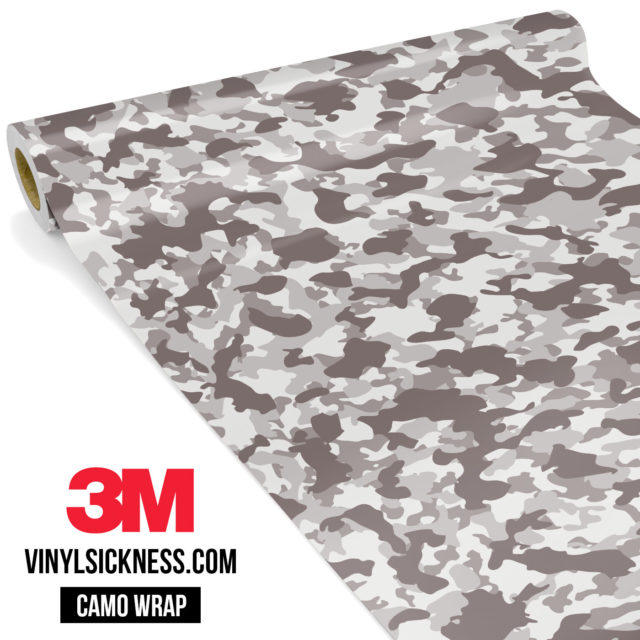 Smokey Taupe Camo Small Vinyl Wrap Main