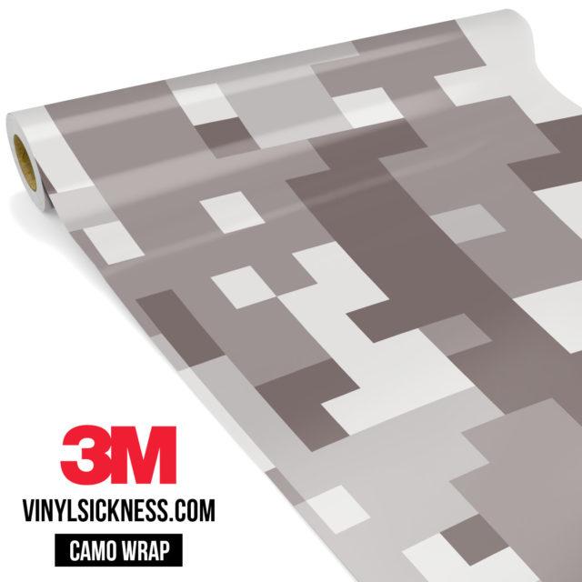 Smokey Taupe Digital Camo Large Vinyl Wrap Main
