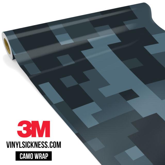Spruce Cobalt Digital Camo Large Vinyl Wrap Main