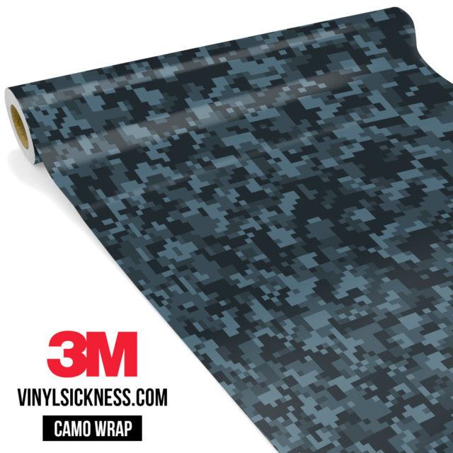 Spruce Cobalt Digital Camo Small Vinyl Wrap Main