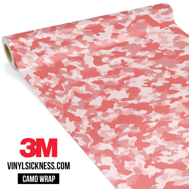 Taffy Pink Camo Small Vinyl Wrap Main