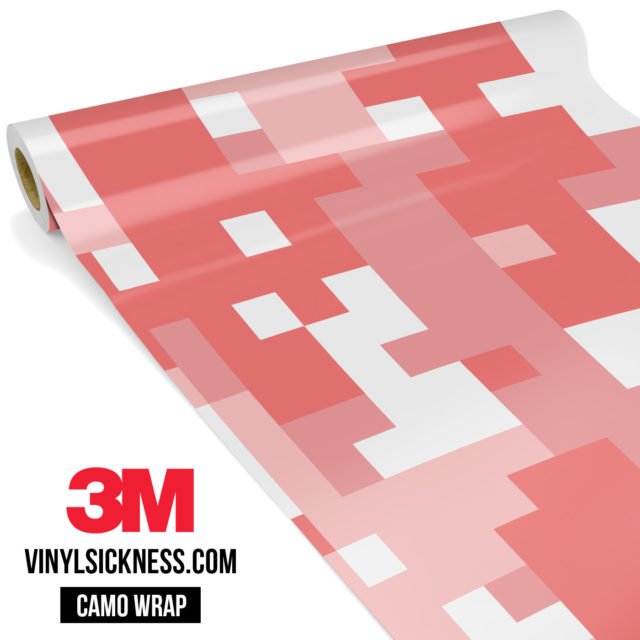 Taffy Pink Digital Camo Large Vinyl Wrap Main