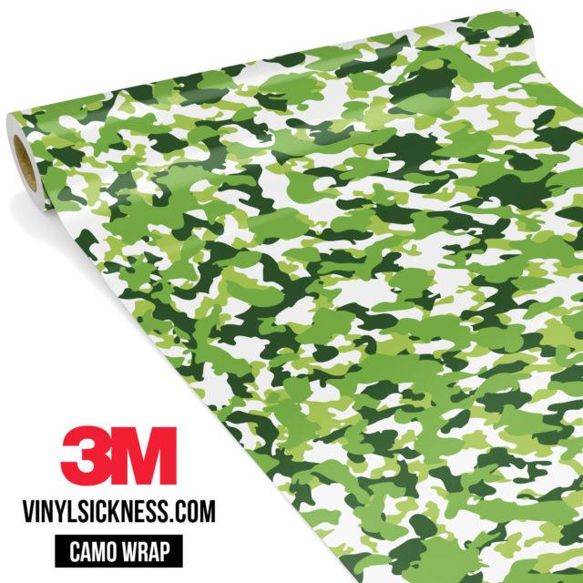 Tropical Green Camo Small Vinyl Wrap Main