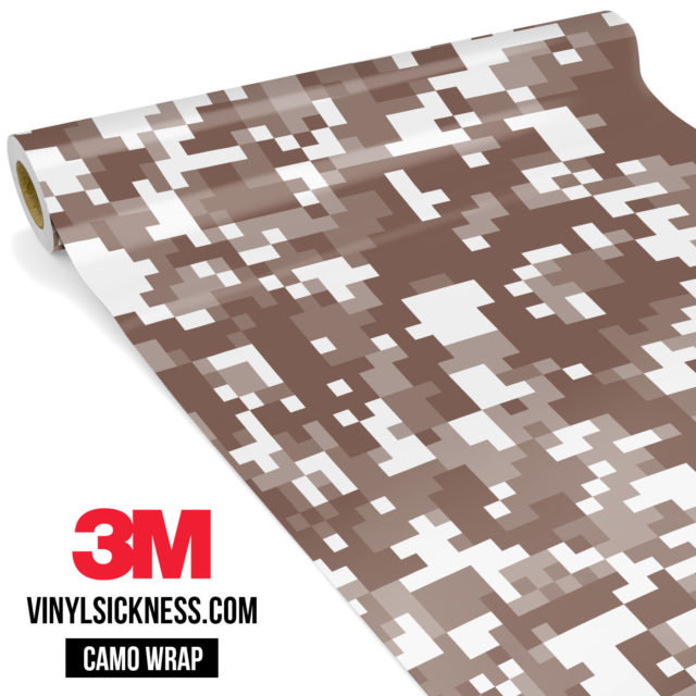 Wild Saddle Digital Camo Regular Vinyl Wrap Main