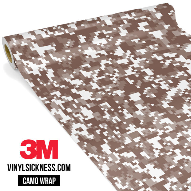 Wild Saddle Digital Camo Small Vinyl Wrap Main